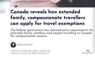 加拿大放宽入境限制!这些家庭成员也可以入境!