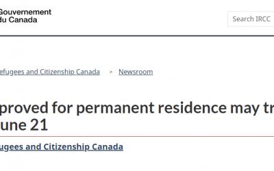 好消息!新移民可以登陆加拿大了!